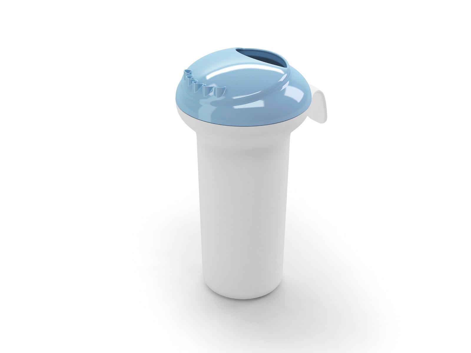 Ковш для бани OK BABY Splash, голубой ковш детский для воды happy baby цвет голубой