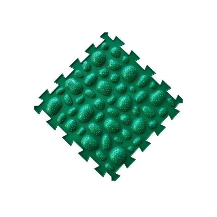 Коврик-пазл Орто Пазл морские камни жётские, мкж(з) зеленый