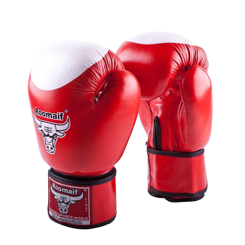 Боксерские перчатки Roomaif RBG-100, RBG-100-20, красный