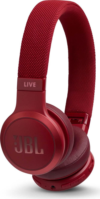 Беспроводные наушники JBL Live 400BT, красный