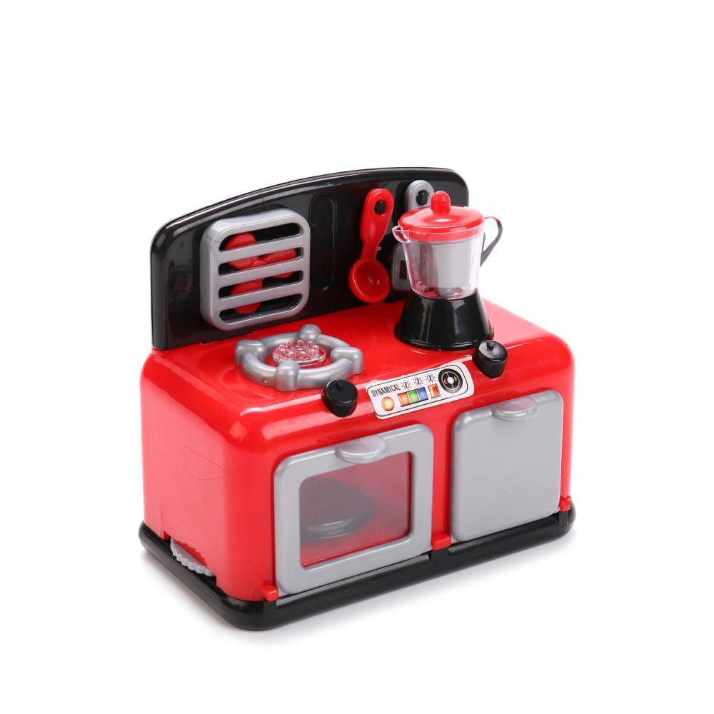 Сюжетно-ролевые игрушки S+S TOYS Плита 101031872 со светом и звуком, 1006311 красный, серый цена 2017