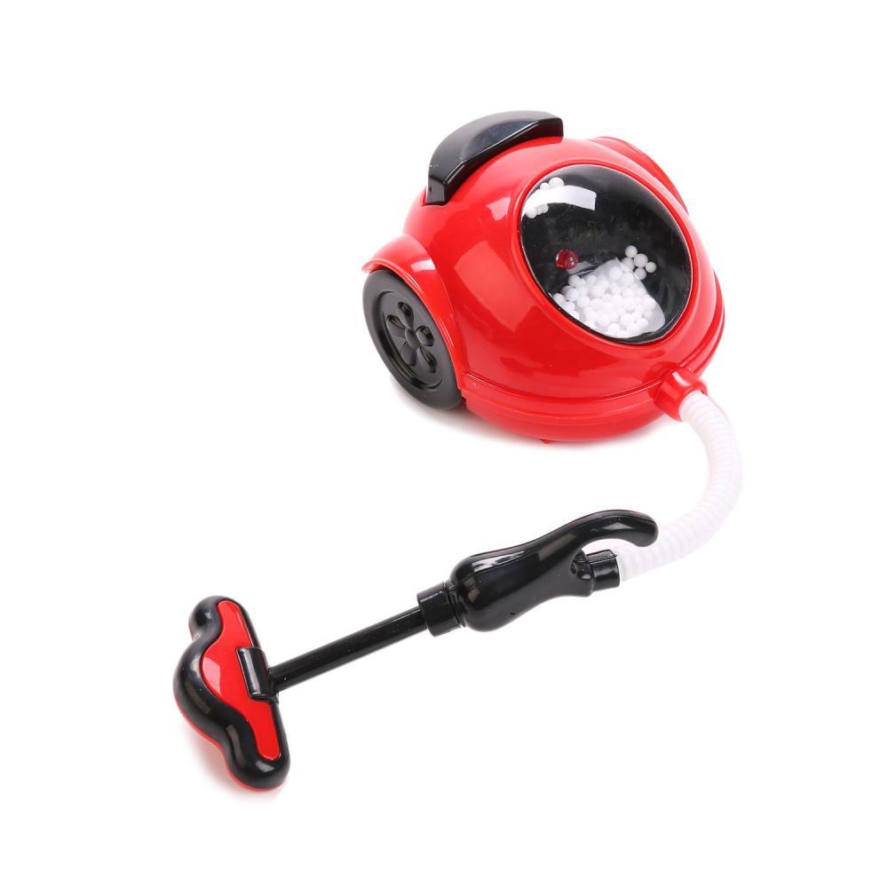 Сюжетно-ролевые игрушки S+S TOYS Пылесос 101031851 со светом и звуком, 1006309 красный, серый все цены