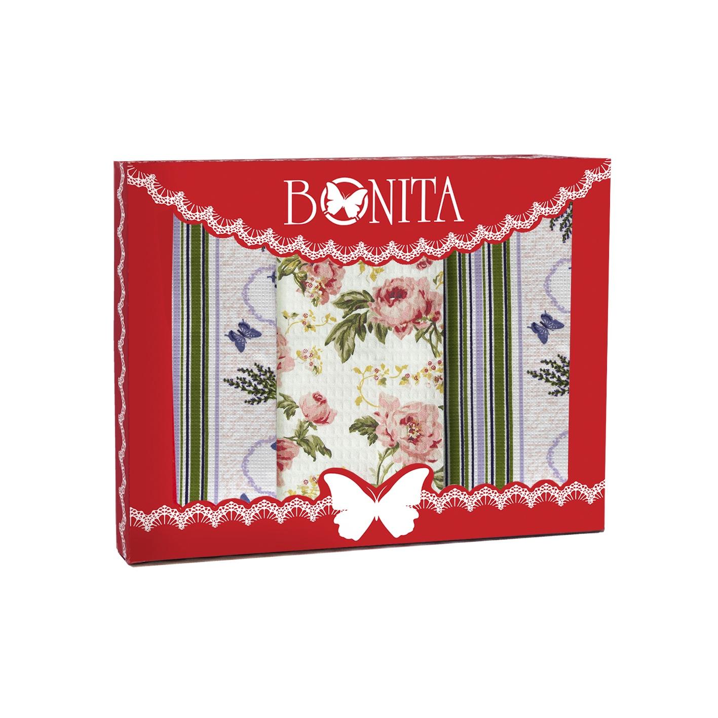Комплект для кухни Bonita Английская лаванда, 11010818705, зеленый цена и фото