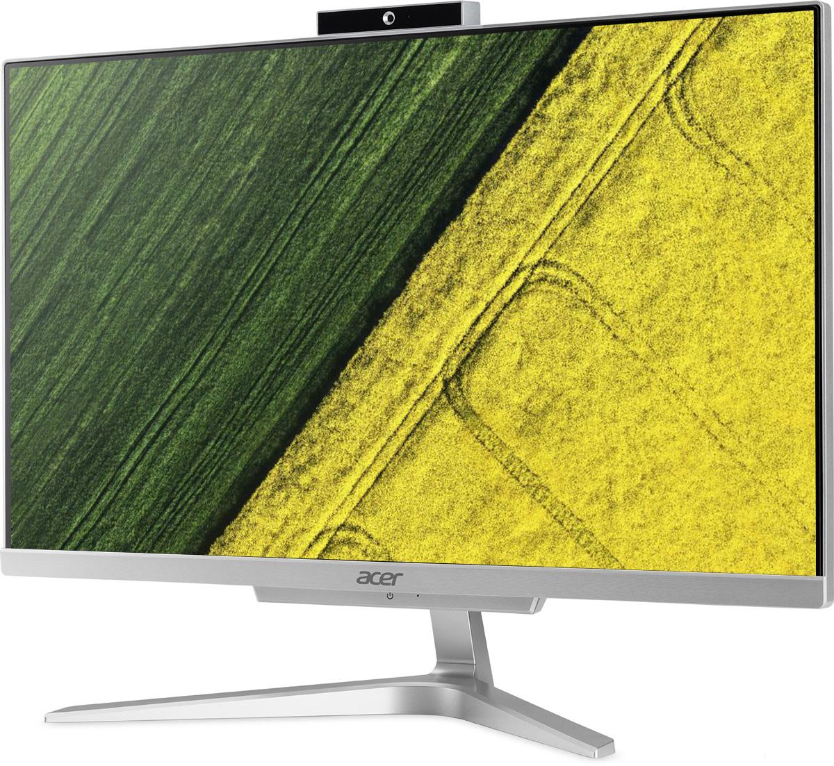 Моноблок Acer Aspire C22-865, DQ.BBRER.004, 21.5, серебристый моноблок acer aspire c22 860 21 5 цвет серебристый