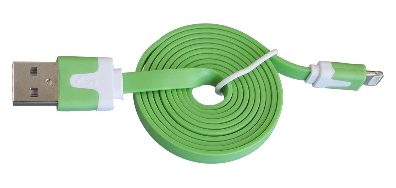 Кабель Navitoch Lightning/8pin, зеленый