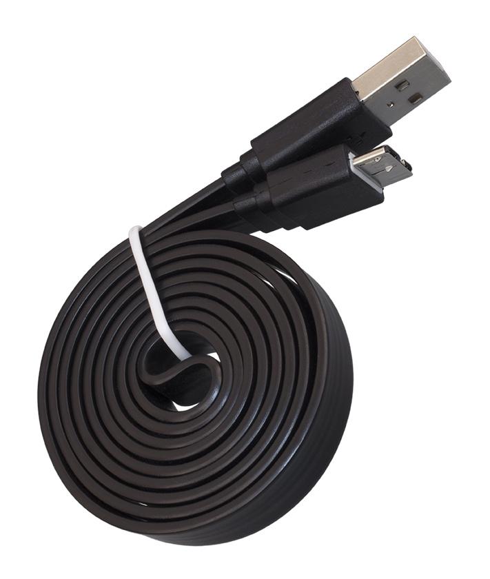 USB-Кабель Navitoch USB 3.0 A-microB, для внешних HDD плоский чёрный кабель navitoch usb 3 0 a microb зеленый