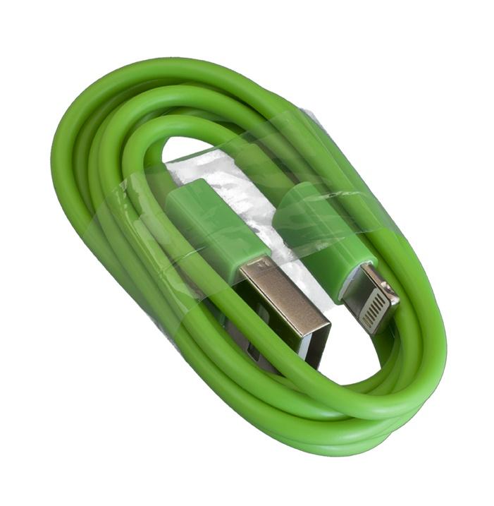 цена на Кабель Navitoch 8-pin, Lightning, 3574, зеленый