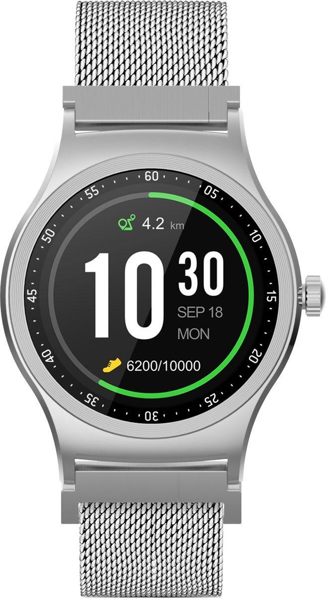 Умные часы Krez Pro S, серебристый цена и фото