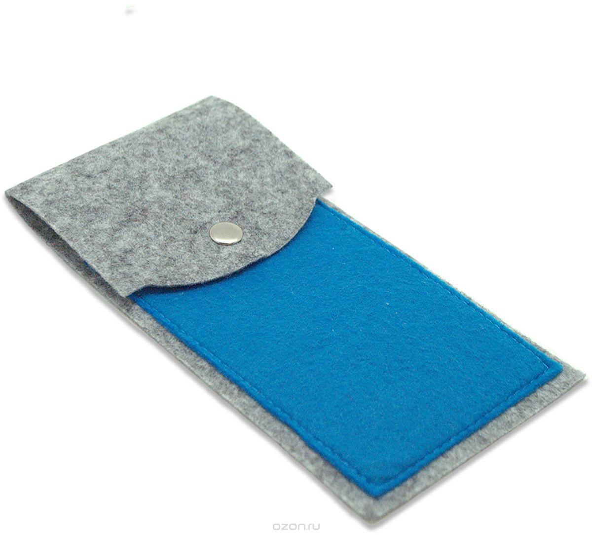 Пенал Feltrica вертикальный соро-синий , 4627130655007 feltrica пенал вертикальный