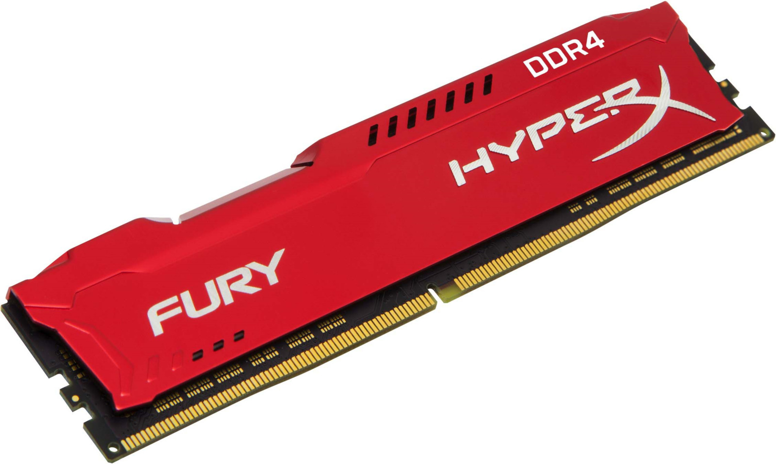 Модуль оперативной памяти Kingston HyperX Fury DDR4 DIMM, 16GB, 3466MHz, CL19, HX434C19FR/16, red