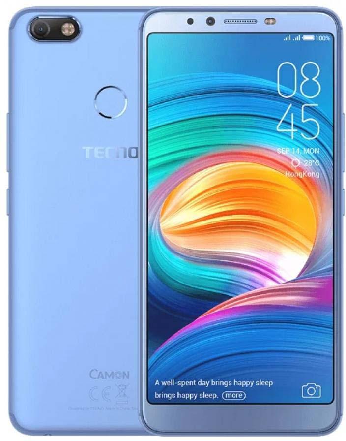 Смартфон Tecno Camon X 3/32GB, голубой