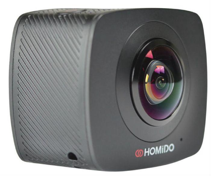 Фото - Экшн-камера Homido Cam360, черный видео