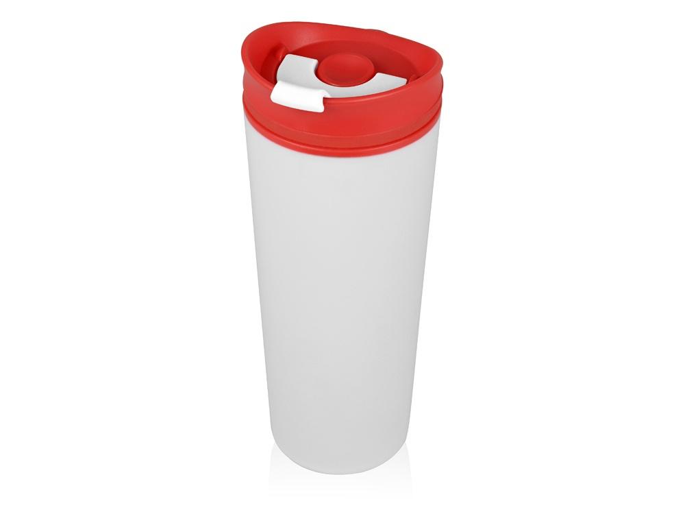 Термокружка Oasis Brite пластиковая, 870301, красный