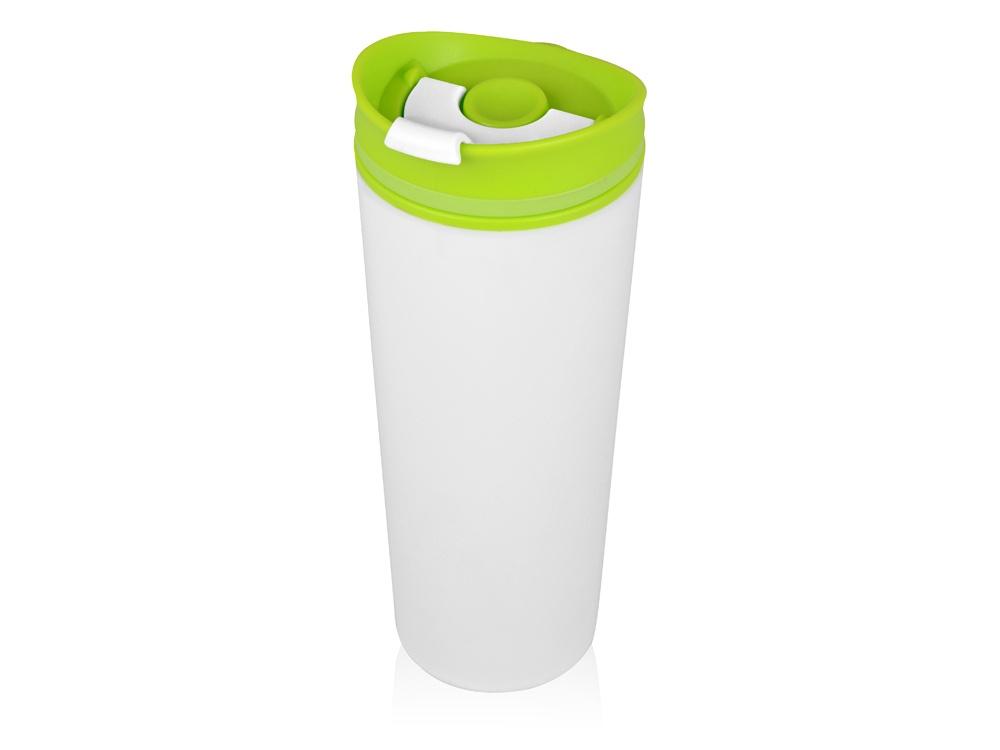 Термокружка Oasis Brite пластиковая, 870303, зеленый