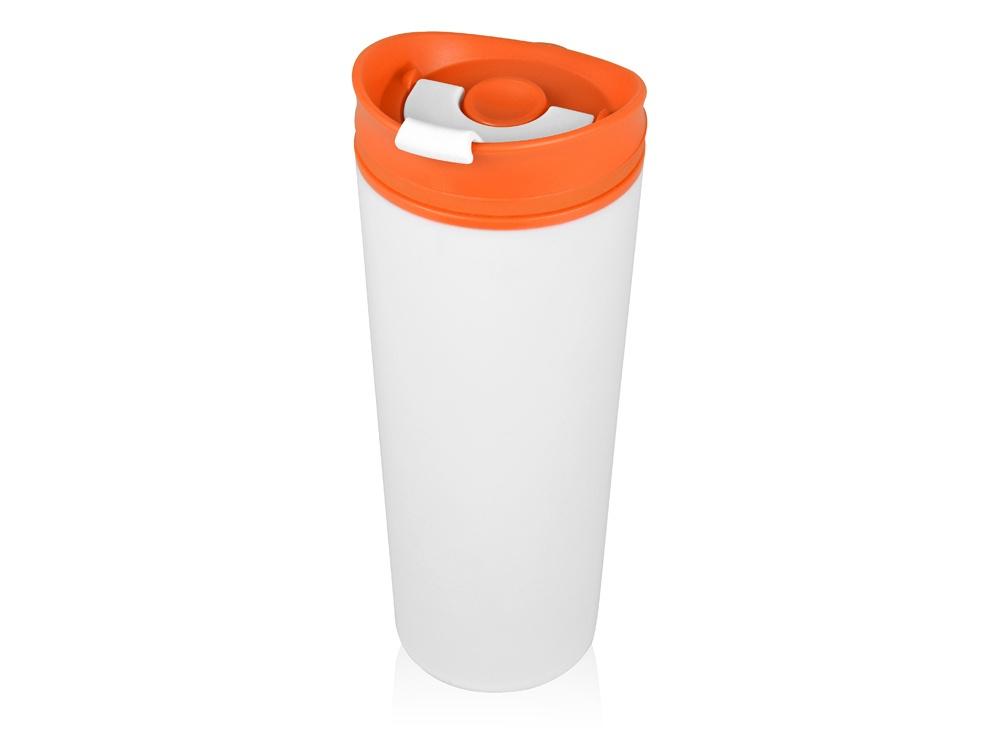 Термокружка Oasis Brite пластиковая, 870308, оранжевый