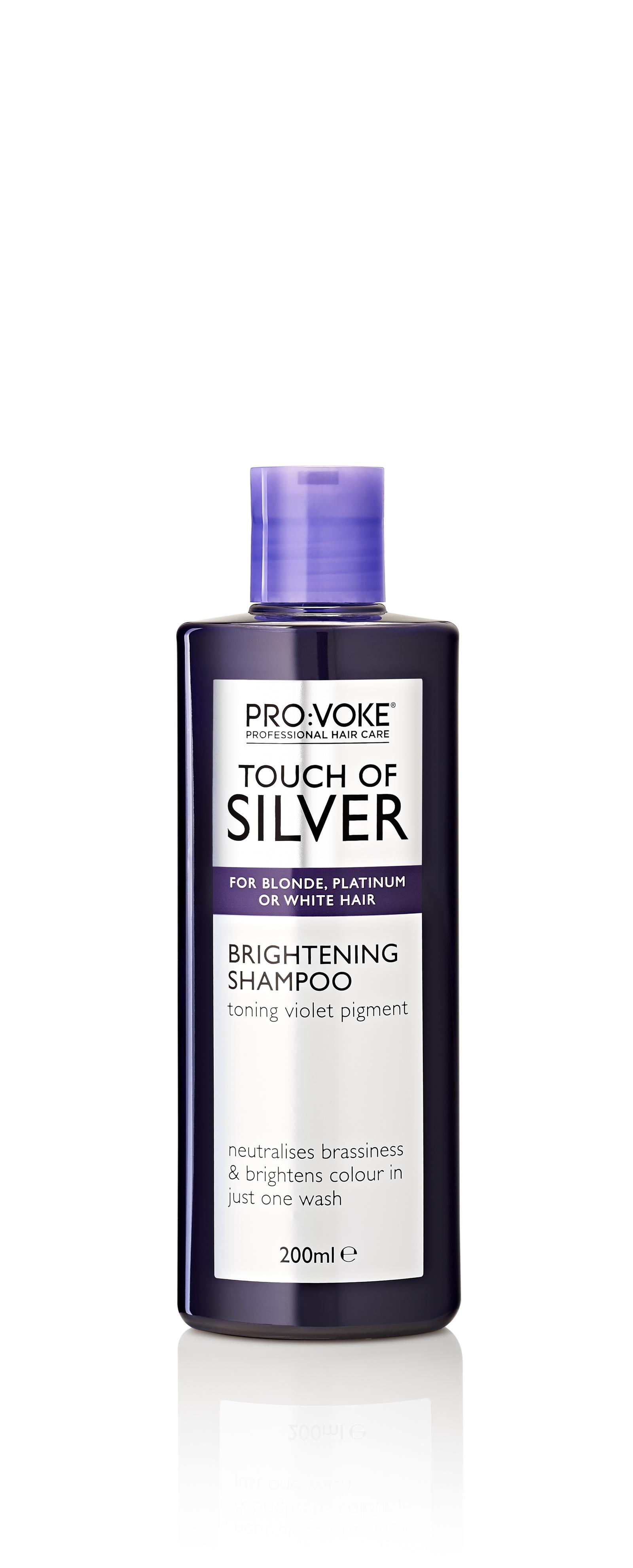 Шампунь для волос Provoke TOUCH OF SILVER, осветляющий, устраняющий желтый оттенок label m осветляющий шампунь для блондинок 300 мл