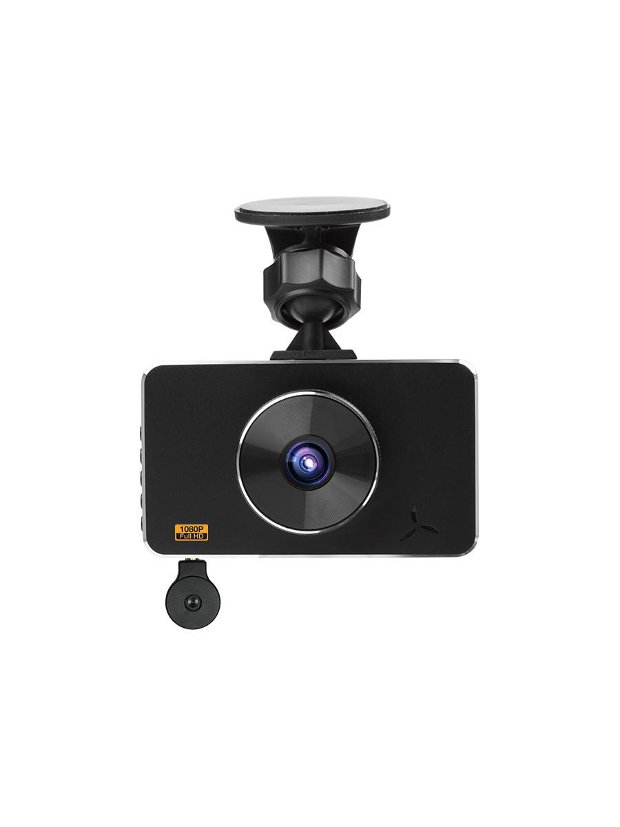 Видеорегистратор Lexand LR85 DUAL, черный автомобильный видеорегистратор lexand lr47