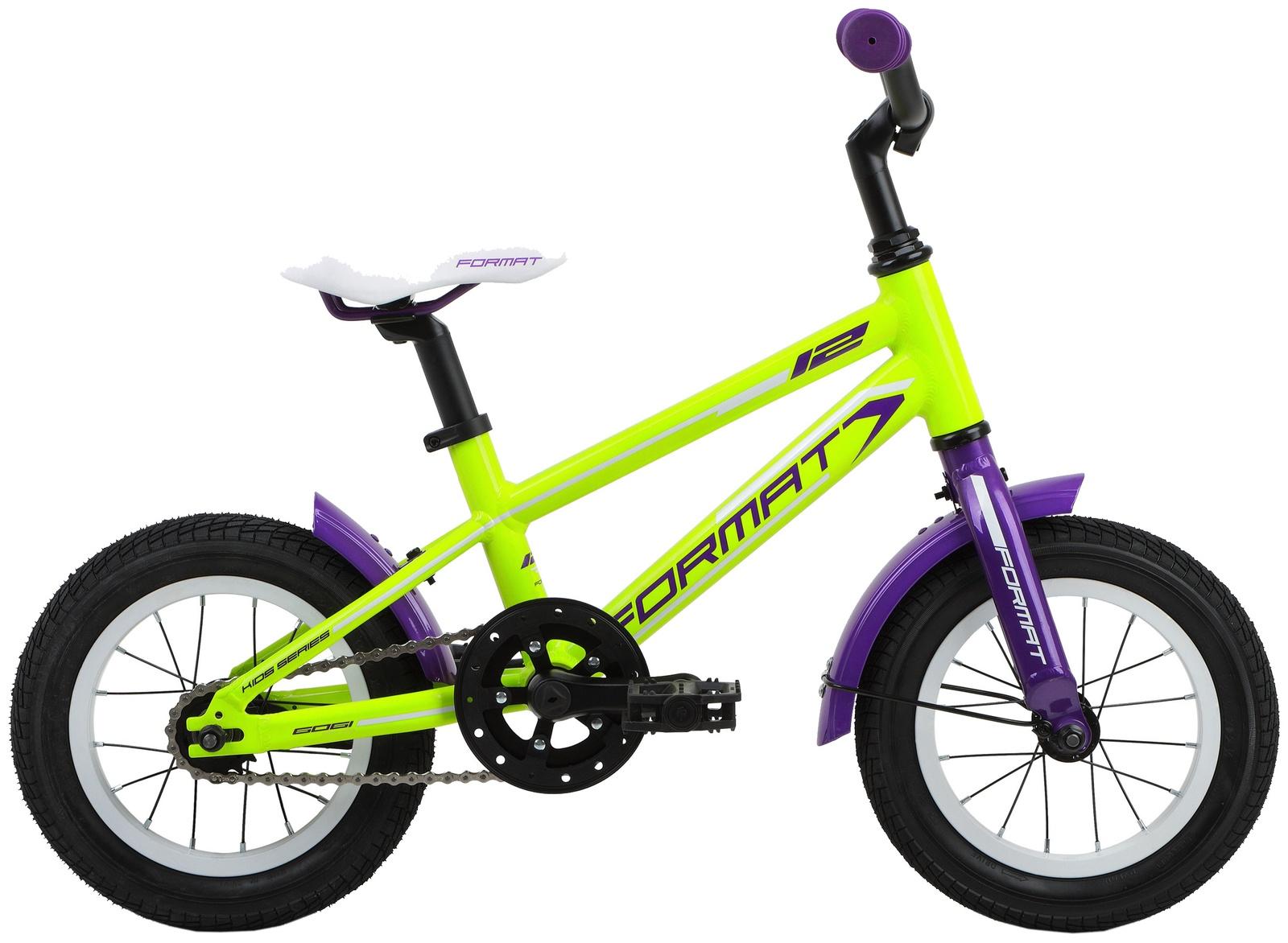 Велосипед Format Kids girl 12, RBKM7L6E1002, желтый format велосипед format 6422 girl 2017 желтый 13