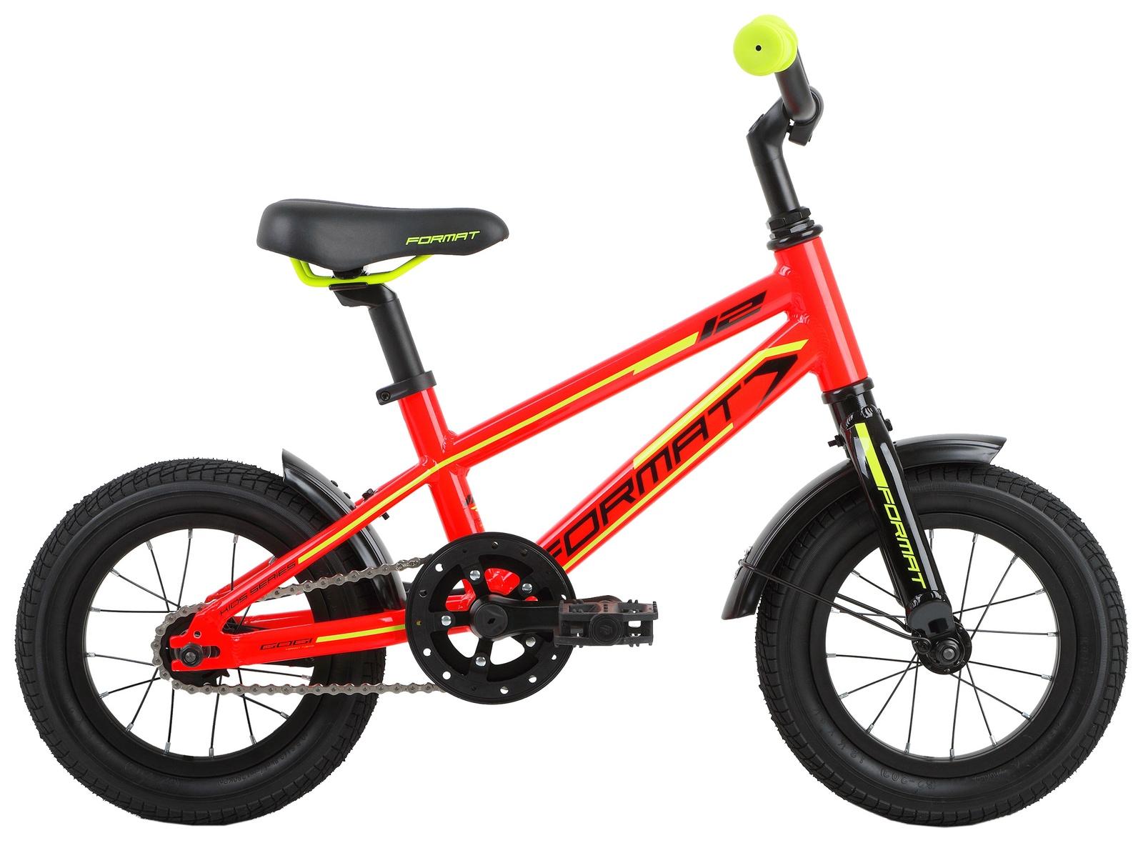 Велосипед Format Kids boy 12, RBKM7L6E1001, красный