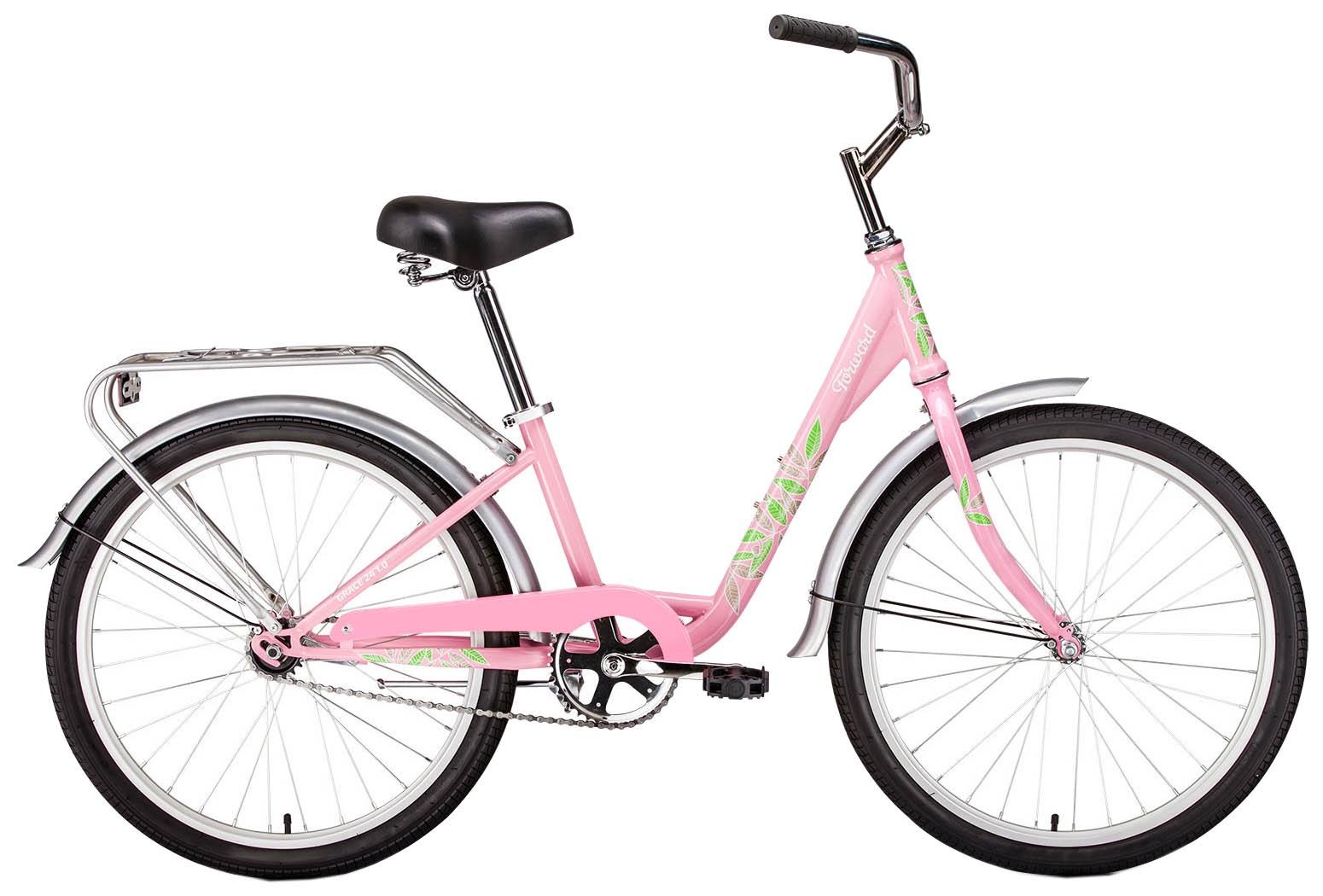 Велосипед Forward GRACE 24, розовый