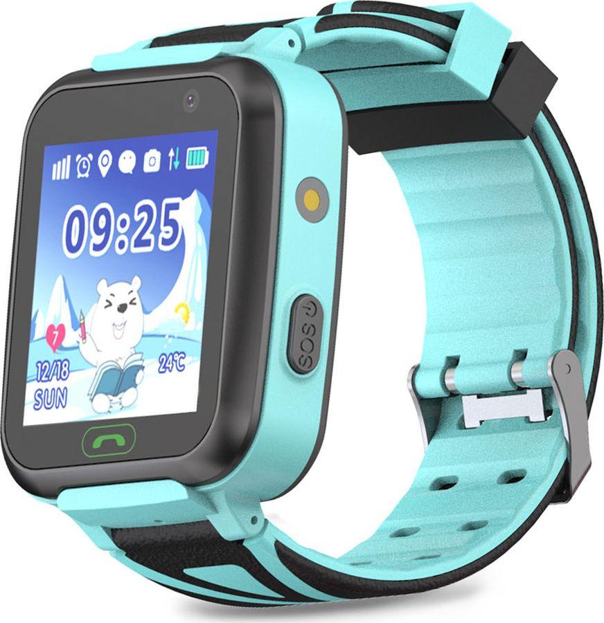 Умные часы детские Ginzzu GZ-509 Touch, синий детские умные часы ginzzu gz 521 brown