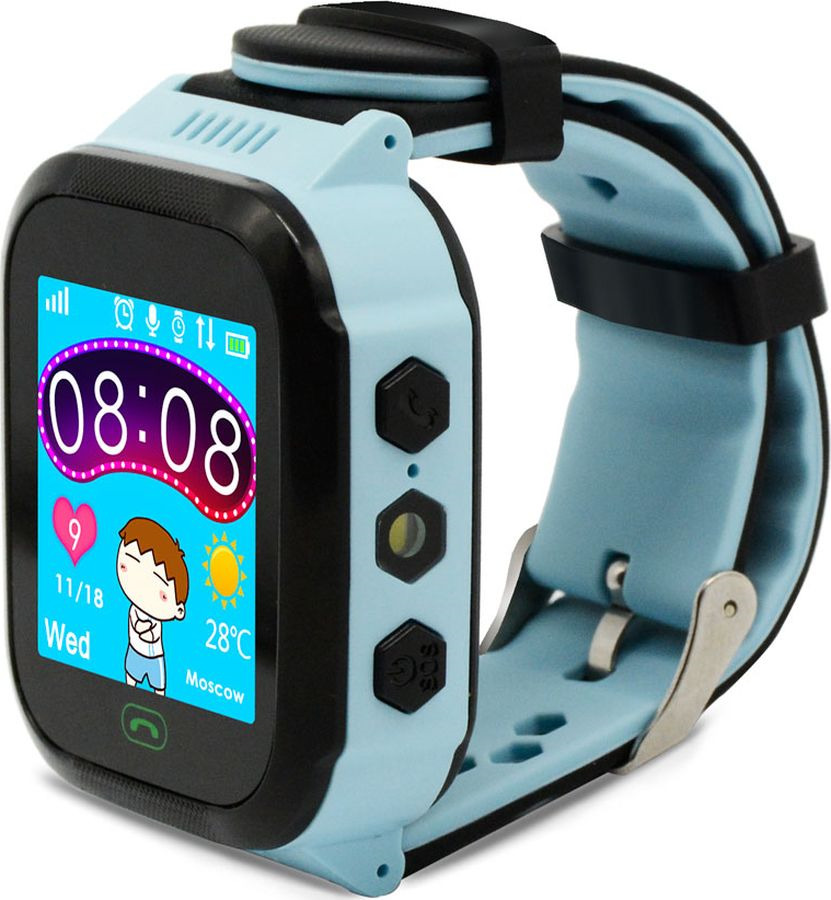 Умные часы детские Ginzzu GZ-502 Touch, 17078, blue детские умные часы ginzzu gz 521 brown