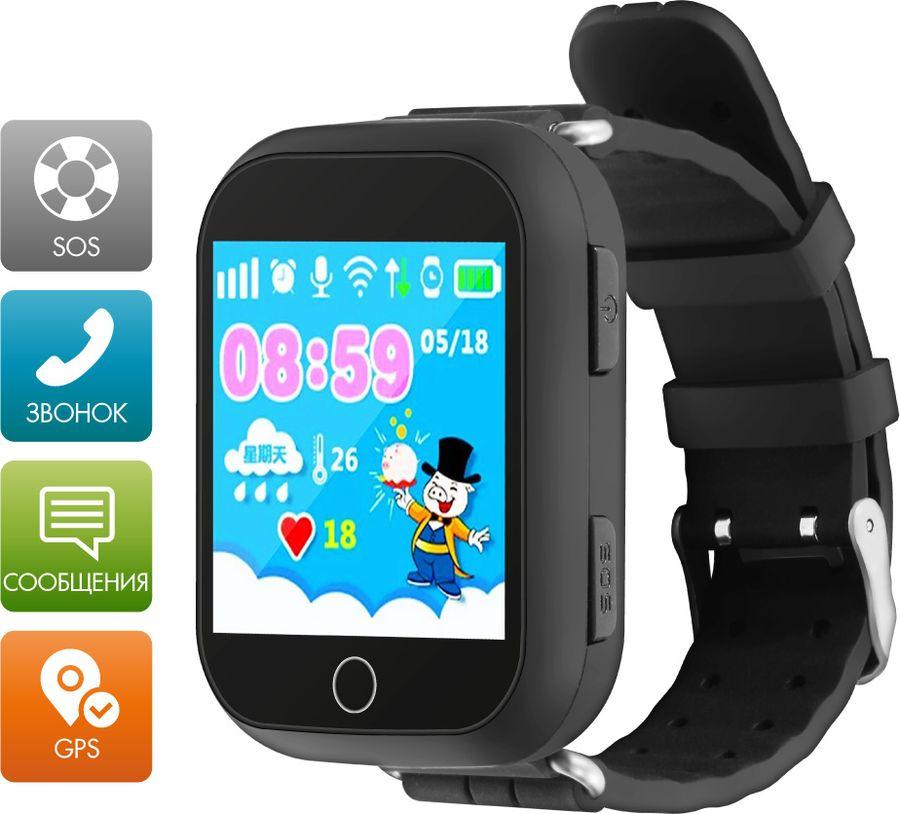 Умные часы детские Ginzzu GZ-503 Touch, черный детские умные часы ginzzu gz 521 brown