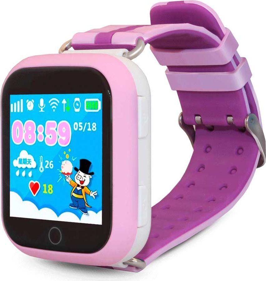 Умные часы детские Ginzzu GZ-503 Touch, розовый цена и фото