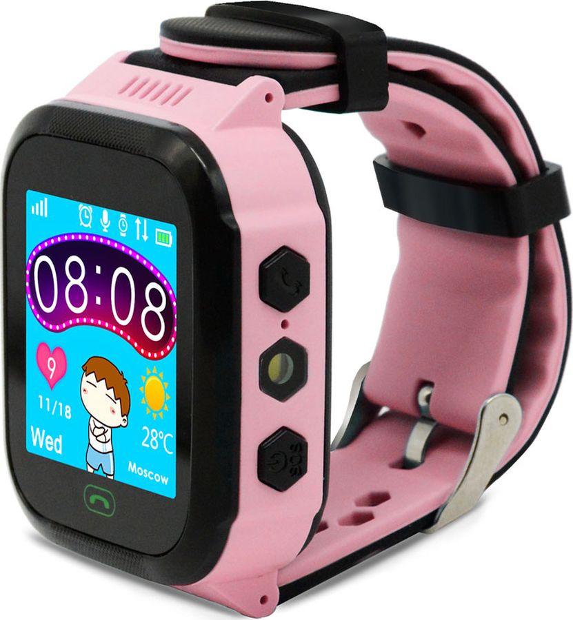 Умные часы детские Ginzzu GZ-502 Touch, розовый детские умные часы ginzzu gz 521 brown