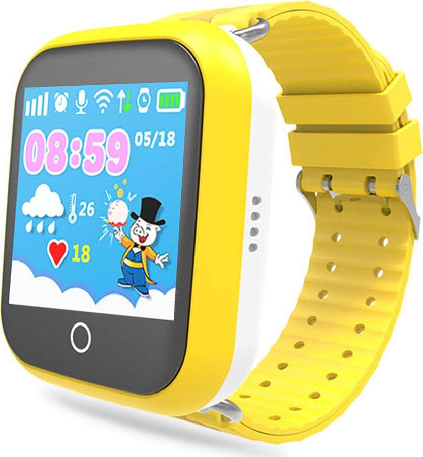 Умные часы детские Ginzzu GZ-503 Touch, желтый цена и фото