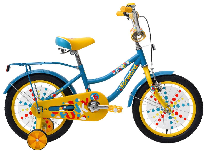 Велосипед Forward FUNKY 16, RBKW9LNG1013, зеленый недорго, оригинальная цена