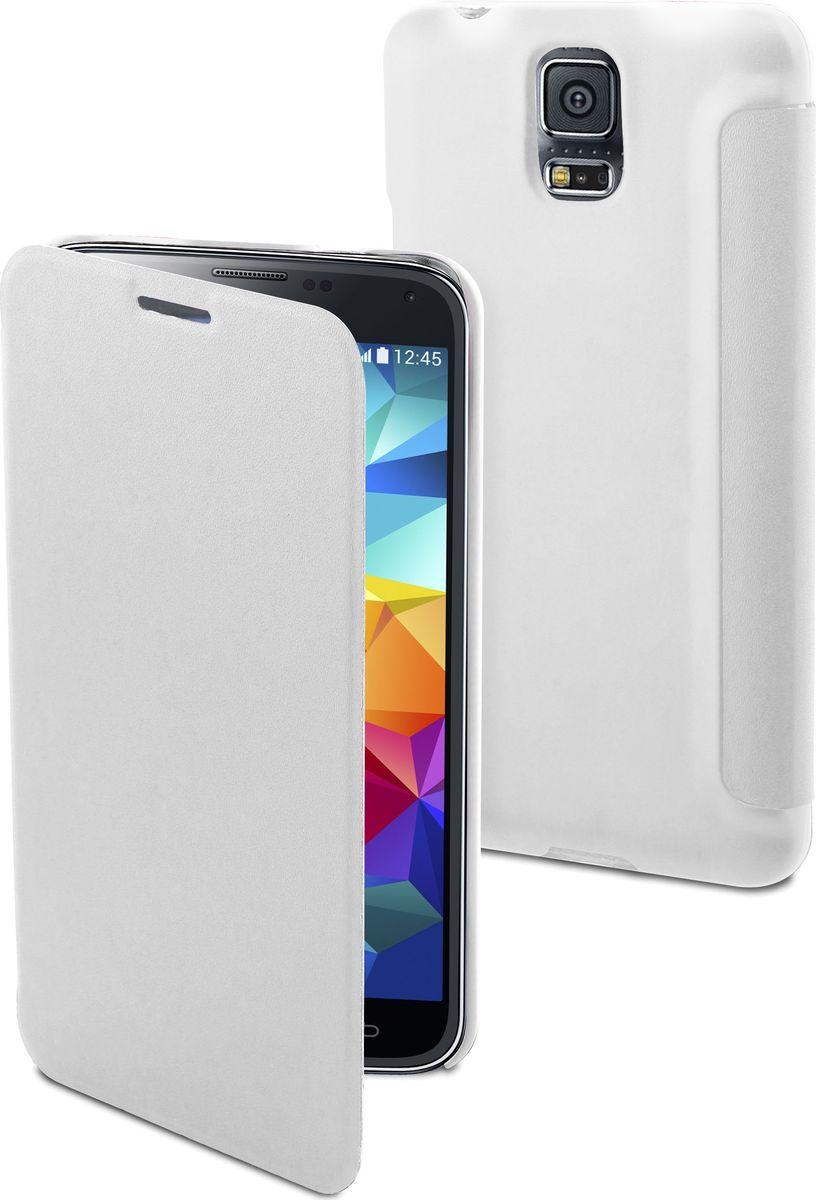 Чехол для сотового телефона Muvit Easy Folio Case для Samsung Galaxy S5 MINI, MUEAF0139, белый цена 2017