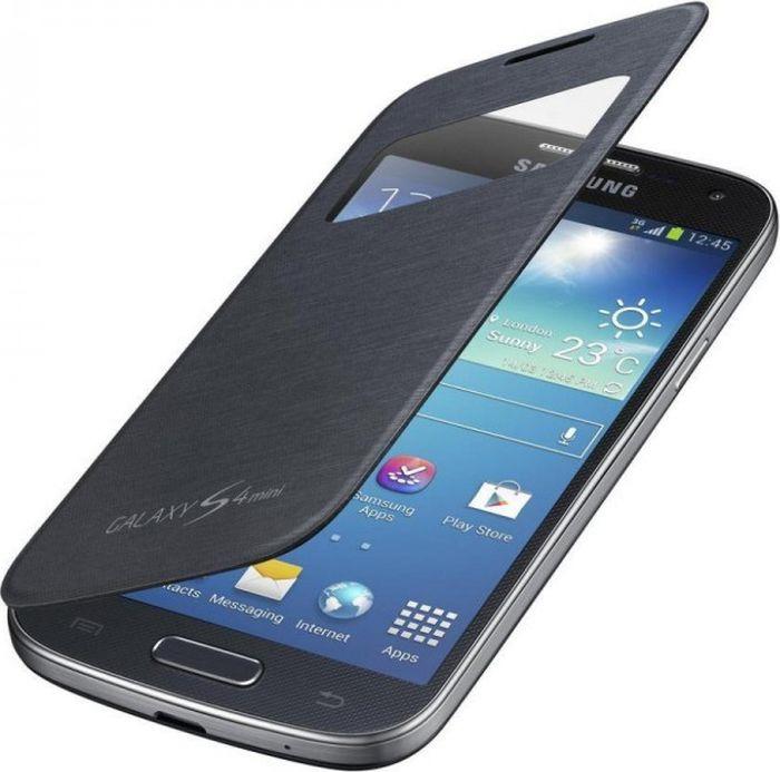 Чехол для сотового телефона Samsung i9200 для Galaxy Mega 6,3 S-View, EF-CI920BBEGRU, черный стоимость