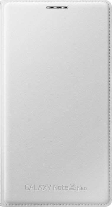 Чехол для сотового телефона Samsung Flip Wallet Note 3 Neo N750x, EF-WN750BWEGRU, белый mooncase окно просмотра кожа флип сторона чехол подставка чехол для samsung galaxy note 3 neo n750 lite n7505 белый