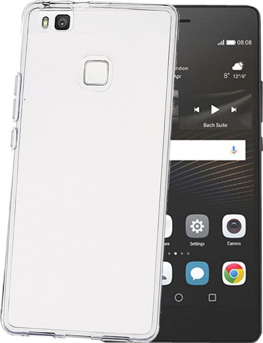 Чехол для сотового телефона Celly Gelskin для Huawei P9 Lite, GELSKIN564, прозрачный цена 2017