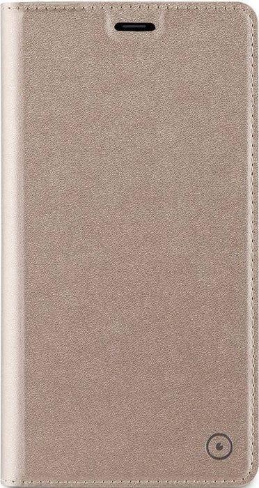 Чехол для сотового телефона Muvit Bling Folio Case для Samsung Galaxy A3 (2017), MLFLC0014, золотой чехол для сотового телефона muvit clear back crystal case для samsung galaxy note 4 mucry0036 прозрачный