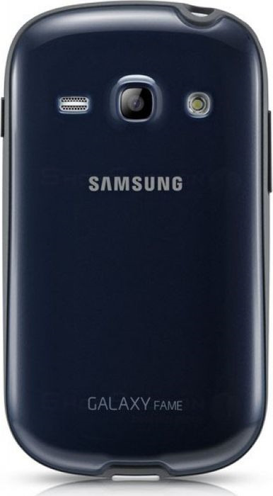 Чехол Samsung Protect Cover для Galaxy Fame, синий fame game infamous