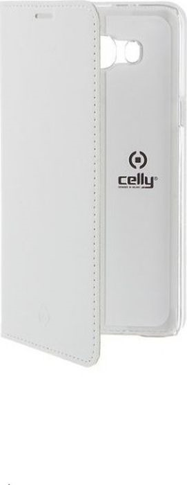 Чехол для сотового телефона Celly Air Case для Samsung Galaxy J7 2016, AIR556WH, белый аксессуар чехол samsung galaxy a8 celly air case black air705bkcp