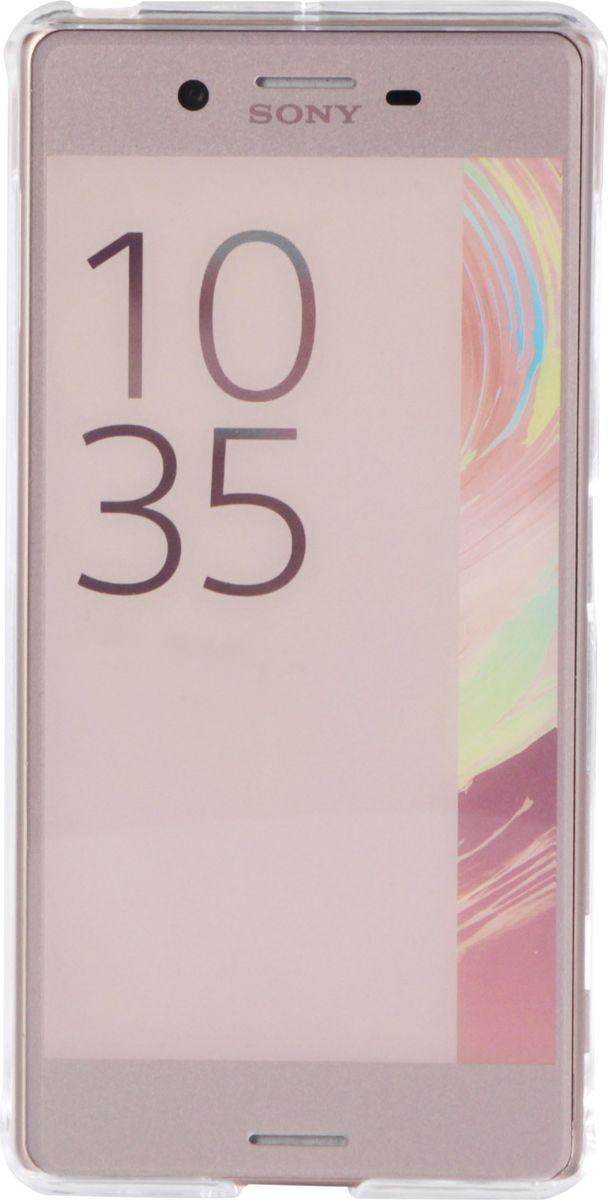 Чехол для сотового телефона Muvit MFX Crystal Case для Sony Xperia X Performance, SECRY0003, прозрачный чехол для sony f8331 f8332 xperia xz skinbox lux case черный