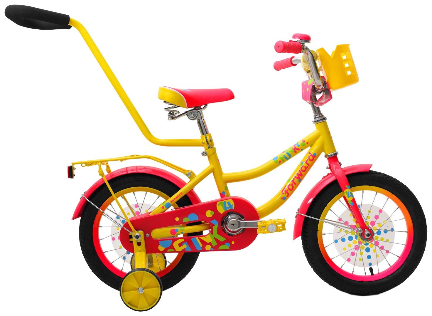 Велосипед Forward FUNKY, RBKW9LNF1005, желтый недорго, оригинальная цена
