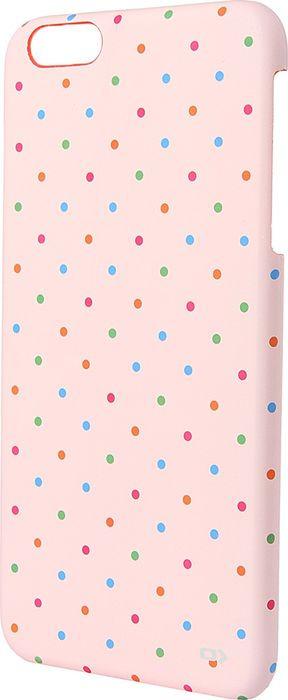 Чехол для сотового телефона OXO Dot Cover Case для iPhone 6 Plus/6S Plus, XCOIP65DPopK6, розовый mercury goospery rich diary leather wallet protective cover for iphone 6 plus 6s plus brown