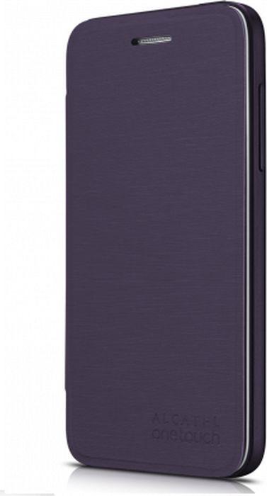 Чехол для сотового телефона Alcatel FC5050 Flip Cover для Pop S3, F-GCGC6130H12C1-A1, баклажан чехол для сотового телефона alcatel fc5050 flip cover для pop s3 f gcgc6130k12c1 a1 шоколад