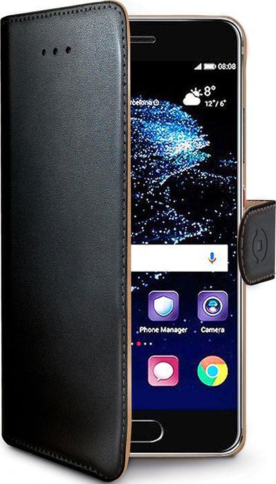 Чехол для сотового телефона Celly Wally Case для Huawei P10 Plus, WALLY646, черный аккумулятор для телефона ibatt hb386589cw для huawei p10 plus p10 plus premium edition p10 plus premium edition dual