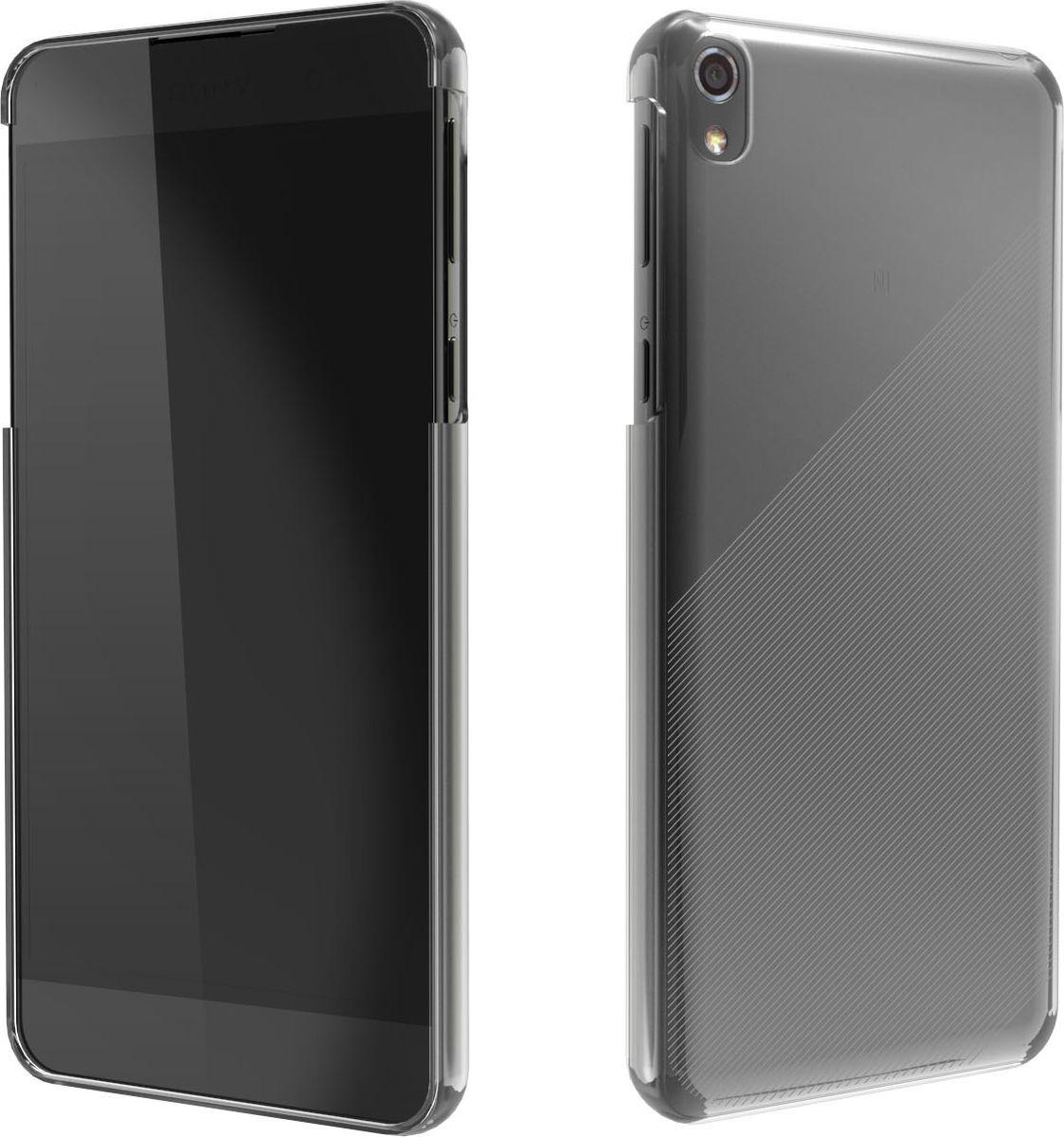 Чехол для сотового телефона Muvit MFX Crystal Case для Sony Xperia E5, SECRY0007, прозрачный