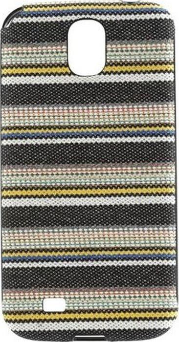 Чехол для сотового телефона Ikins Denim Stripe для Galaxy S4, IKG4fadeB flap button pocket stripe collar denim jacket