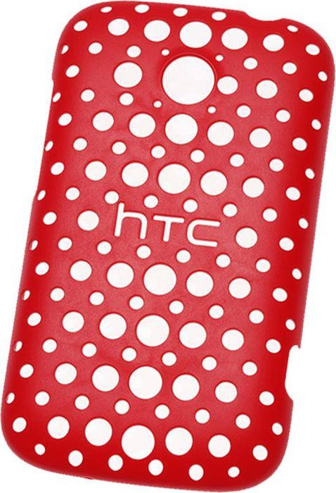 Чехол для сотового телефона HTC Desire C, HC C780 красный, красный стоимость