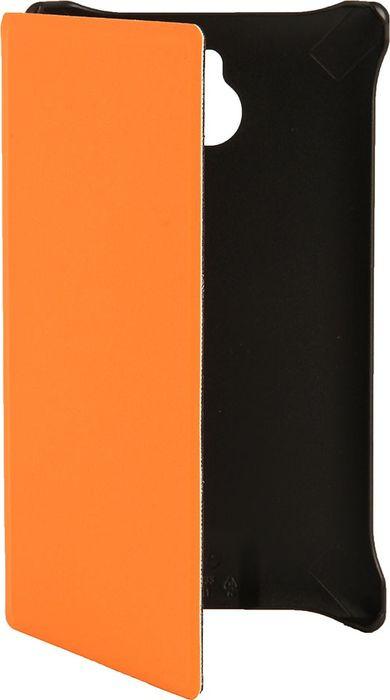 Чехол для сотового телефона Nokia для Nokia X2, CP-633 оранж., оранжевый чехол nokia чехол nokia 8 leather flip cover black cp 801