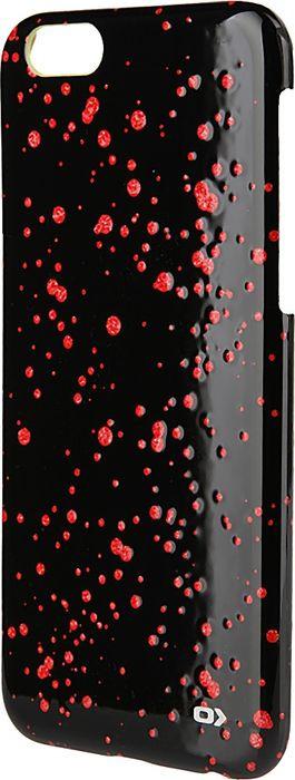 Чехол для сотового телефона OXO Dot Cover Case для iPhone 6/6S, XCOIP64DGLBK6, черный lumion 3083 1w ln16 000 темный хром стекло метал декор бра e14 1 40w 220v aria