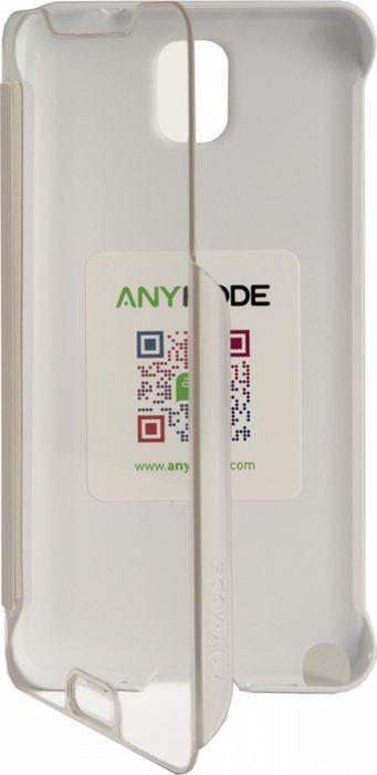 Чехол для сотового телефона Anymode Touch Folio для Galaxy Note 3 N900x, F-DATF000RWH, белый