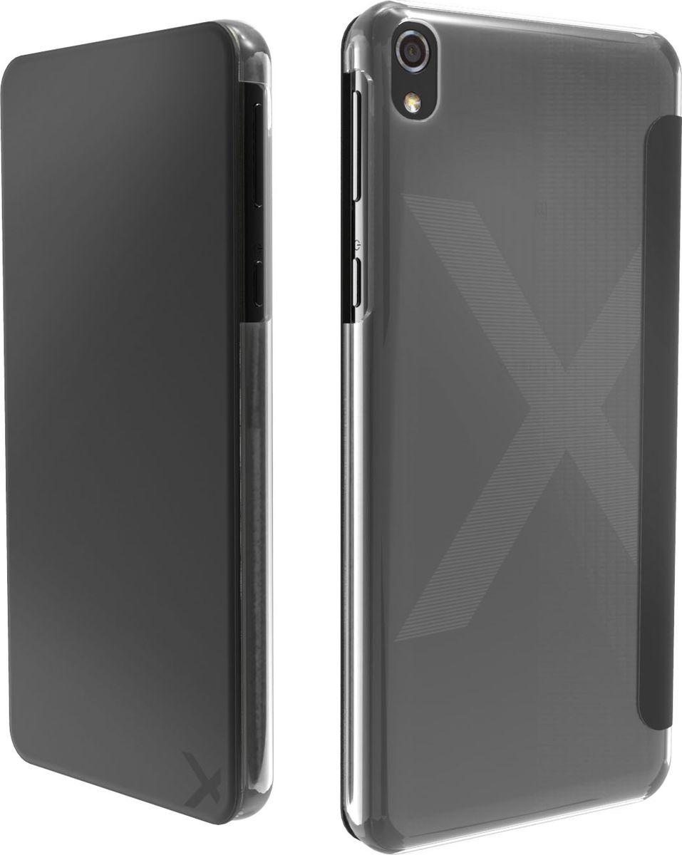 Чехол для сотового телефона Muvit MFX Folio Case для Sony Xperia XA Ultra, SEEAF0046, черный чехол книжка gresso канцлер для sony xperia xa ultra черный